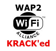 WiFi Alliance with WAP2 and KRACL'ed added