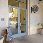 entrance door for DeskHub